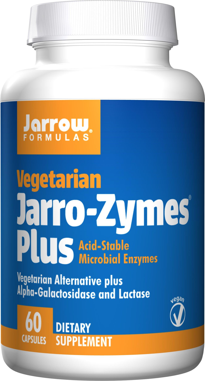 Jarrow Formulas Vegetarian Jarro-Zymes, Supports Gastrointestinal Health, 60 Capules