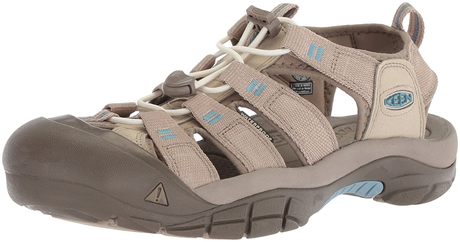 KEEN Women's Newport H2 Sandal B06ZZ2WVHW 8 B(M) US|Plaza Taupe/Provincial Blue