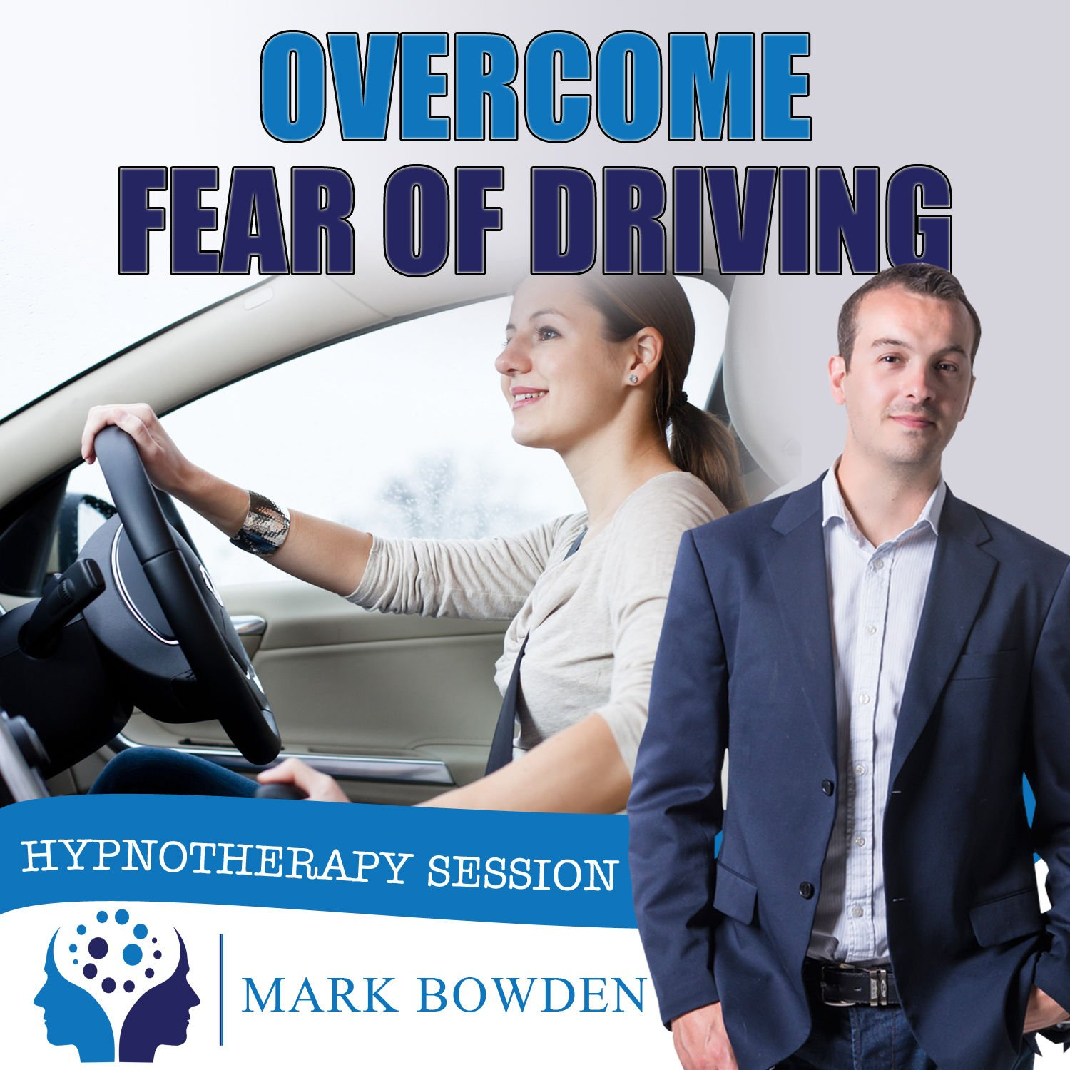 Overcome Fear of Driving Self Hypnosis CD - Hypnotherapy CD to Get the Freedom To Travel Any Types of Roads - Feel at Ease Behind the Wheel and Be Rid of Your Phobia