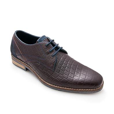 meilleur achat la sortie fiable Zerimar Chaussures Pour Hommes En Cuir Chaussures Homme Chaussures Habillées De Couleur Noir Élégant Homme Taille 41 Livraison gratuite nouveau Livraison gratuite Finishline vente réel jJZAFV8RyC