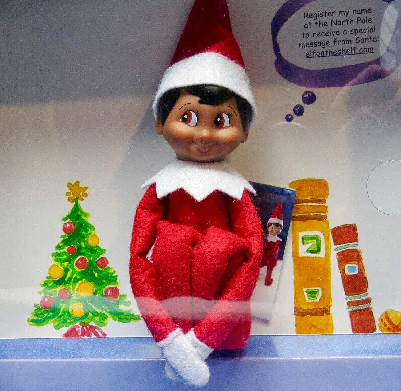 Amazon.com: T2Shop Elf on the Shelf: Muñeca y chamarra de ...