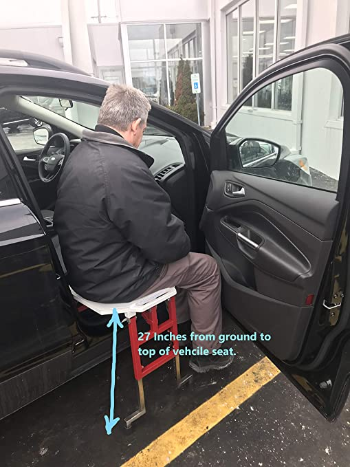 Groovy Slide N Ride Vehicle Assist Seat Alphanode Cool Chair Designs And Ideas Alphanodeonline