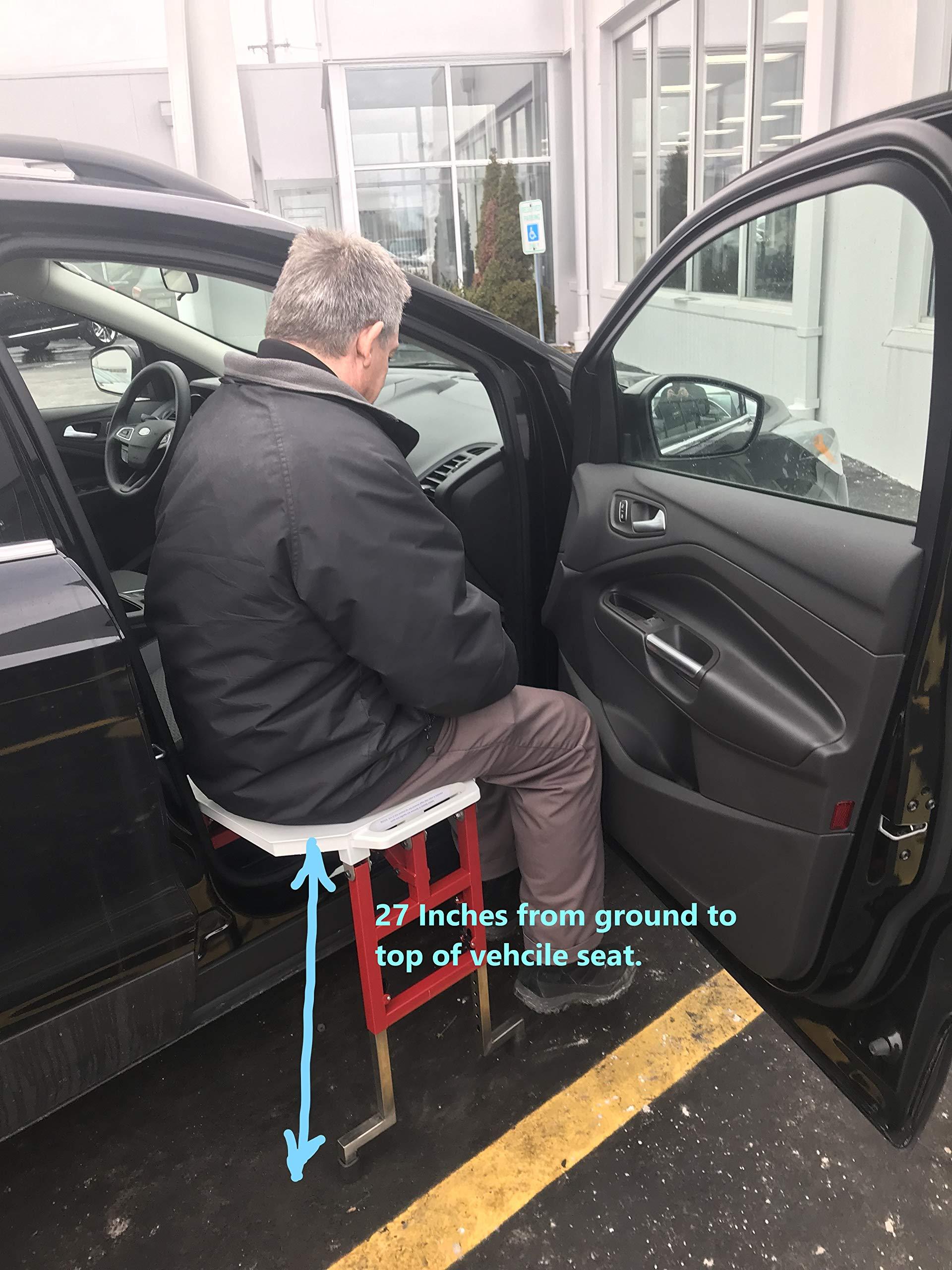 Slide 'n Ride Vehicle Transfer seat by SLIDE 'n RIDE Vehicle Assist Seat (Image #4)