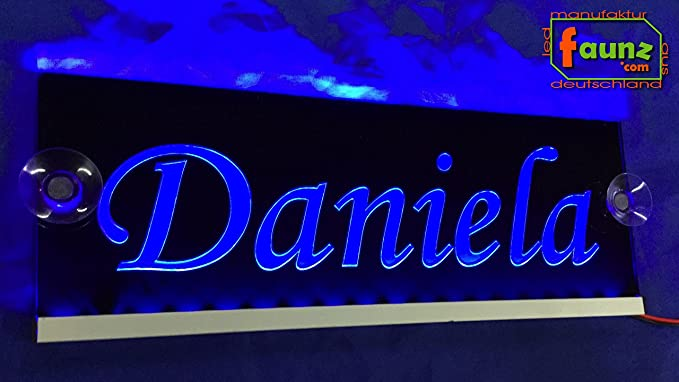 Daniela Azul LED Camiones Truck Cartel o su nombre ...