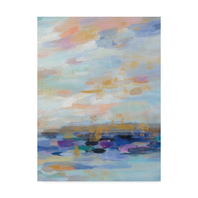 Trademark Fine Art golden Sunrise III Art by Silvia Vassileva, 14x19