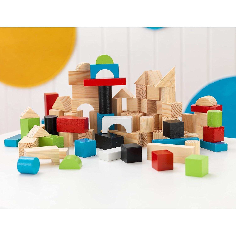 KidKraft 100pc Wooden Block Set