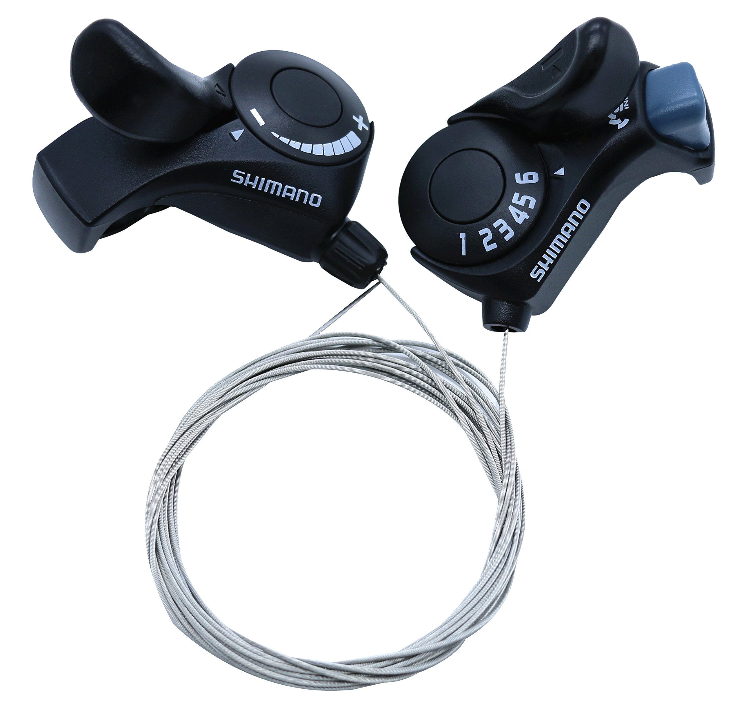 INKESKY Shimano Tourney SL-TX30 3x6 Speed MTB Bike Thumb Gear Shifter with Inner Shift Cables (1 Pair) by INKESKY (Image #6)