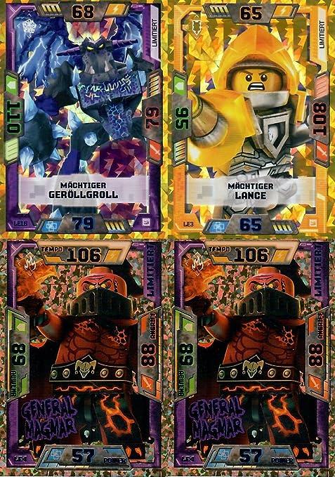 Zane vs Blue Ocean Lego Ninjago Serie 4 Trading Card Limitierte Auflage L15 Z