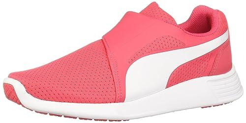 Puma Unisex Kids' St Trainer Evo Ac Jr Low-Top Sneakers, Pink (