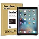 iPad Pro 12.9'' Pellicola Protettiva, iVoler® Pellicola Protettiva in Vetro Temperato per Apple iPad Pro 12.9''- Vetro con Durezza 9H, Spessore di 0,3 mm,Bordi Arrotondati da 2,5D-Shockproof, Trasparenza ad alta definizione, Facile da installare- Garanzia a vita