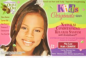 كريم مرطب لتصفيف الشعر بزيت الزيتون للاطفال من افريكاز بيست