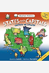 Basher History: States and Capitals: United We Stand Paperback