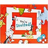 Dr Seuss Party Supplies - Invitations (8)