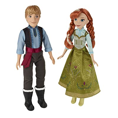 Disney Frozen Anna & Kristoff 2-Pack: Toys & Games