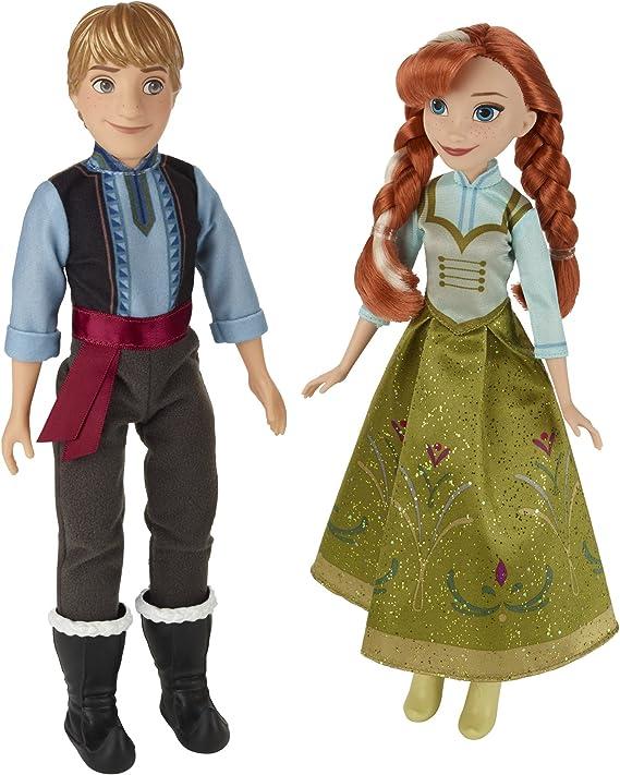 Amazon.es: Disney Frozen Anna y Kristoff 2-Pack: Juguetes y juegos