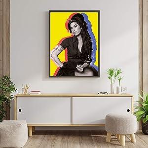 """Amy Winehouse Print Poster Wall Decor Art Wall Art Gift Poster Unframed Poster Print Canvas Printing Size - 11""""x17"""" 18""""x24"""" 24""""x32"""" 24""""x36"""" (M - 18""""x24"""" (46x61cm))"""