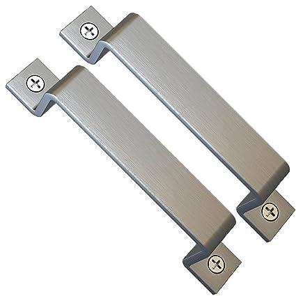 Amazon.com: Juego de 2 manillas deslizantes para puerta de ...