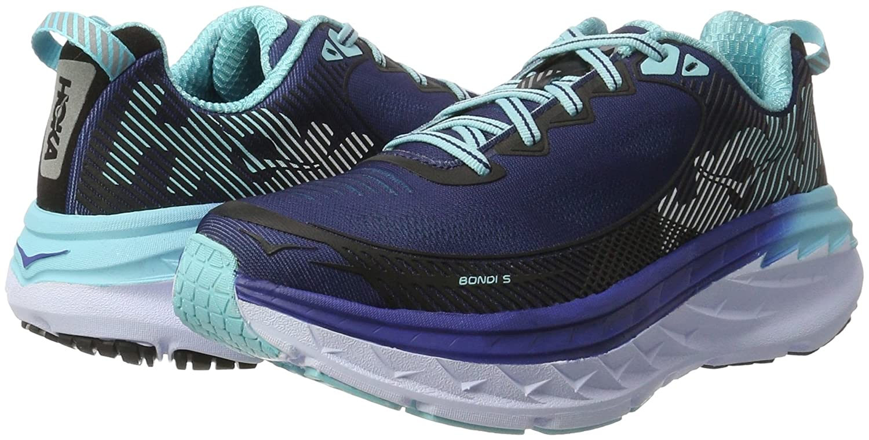 HOKA ONE ONE Women's Bondi 5 Running Shoe B01H6A8KFI Radiance 11 B(M) US|Medieval Blue/Blue Radiance B01H6A8KFI b2aefb