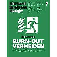 Harvard Business Manager 5/2017: Burn-out vermeiden
