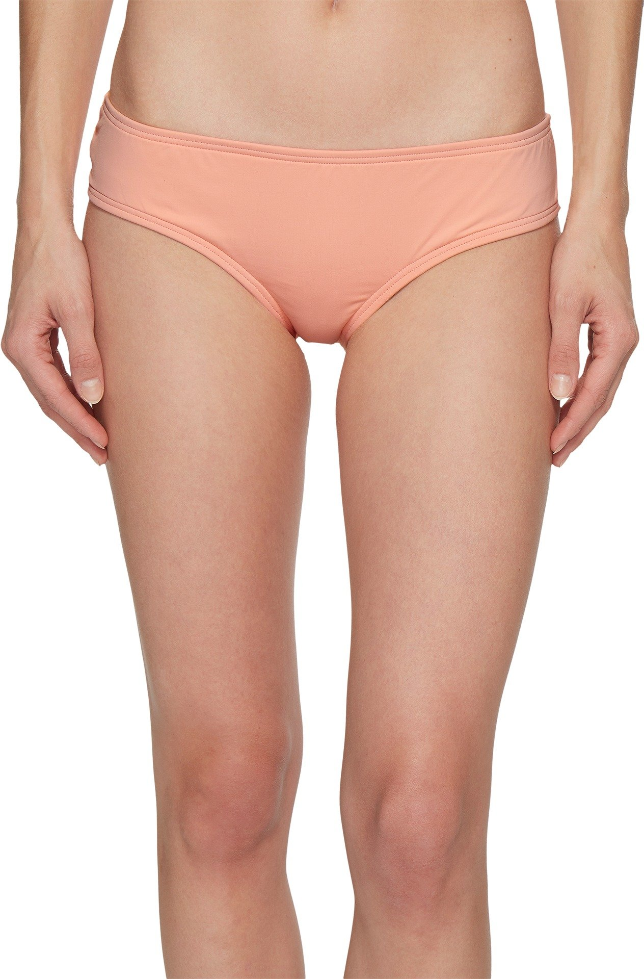 Vince Camuto Women's Sea scallops Shirred Smooth Fit Cheeky Bikini Bottoms Penoy Small