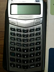 HP 33S Scientific Calculator (F2216A),Grey
