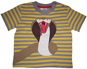 Baby boys danger applique snake t shirt age 18 24 months: amazon.co