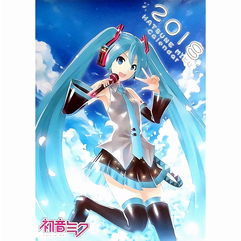 Hatsune Miku Calendar Calendario de Pared Oficial Japón ...