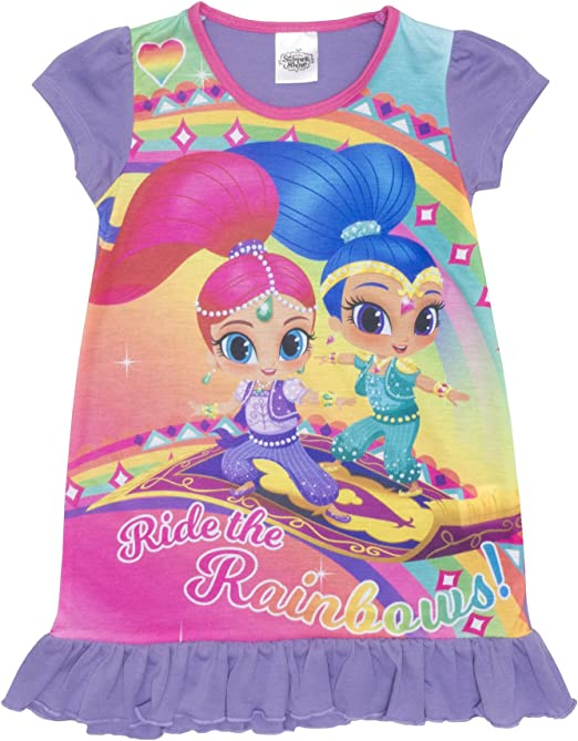 Shimmer And Shine Short Sleeve T Shirt 5//6 Years