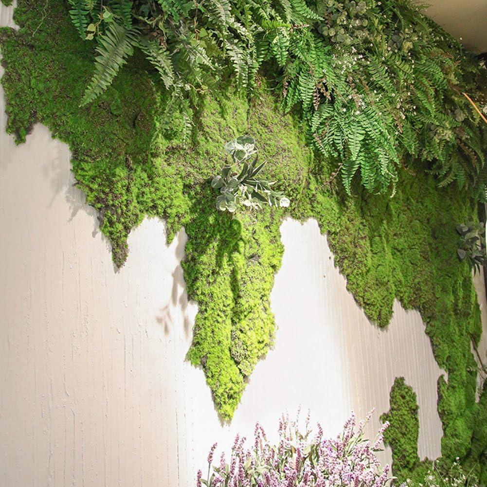 UK Artificial Moss Fake Green Plants Faux Moss Grass For Shop Home Patio Decor