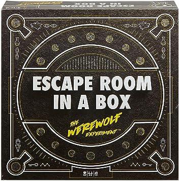Escape Room in a Box: El Experimento de Hombre Lobo, Juego de Mesa (Edades de 13 años en adelante): Amazon.es: Juguetes y juegos