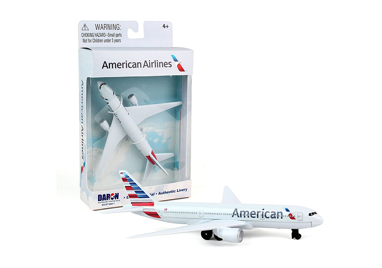 Daron American Airlines Single Plane Daron World wide Trading Inc. RT1664-1