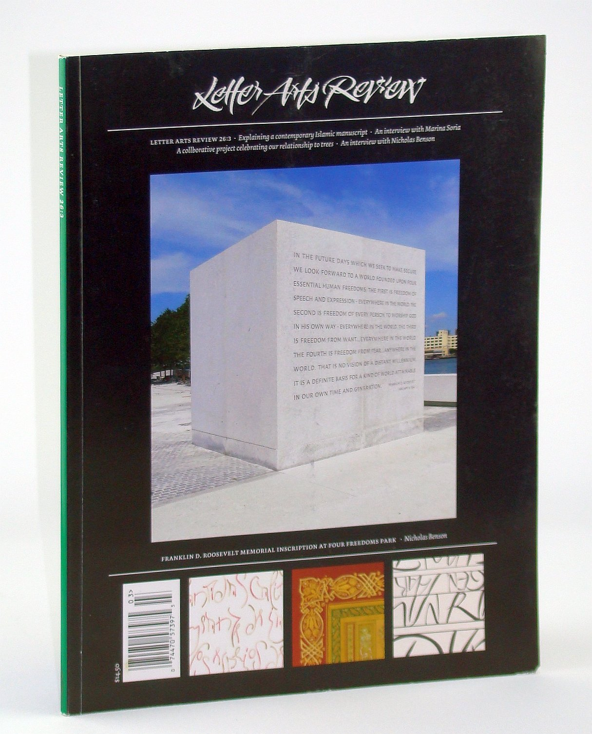 Letter Arts Review, Summer 2012, Volume 26, Number 3 - A
