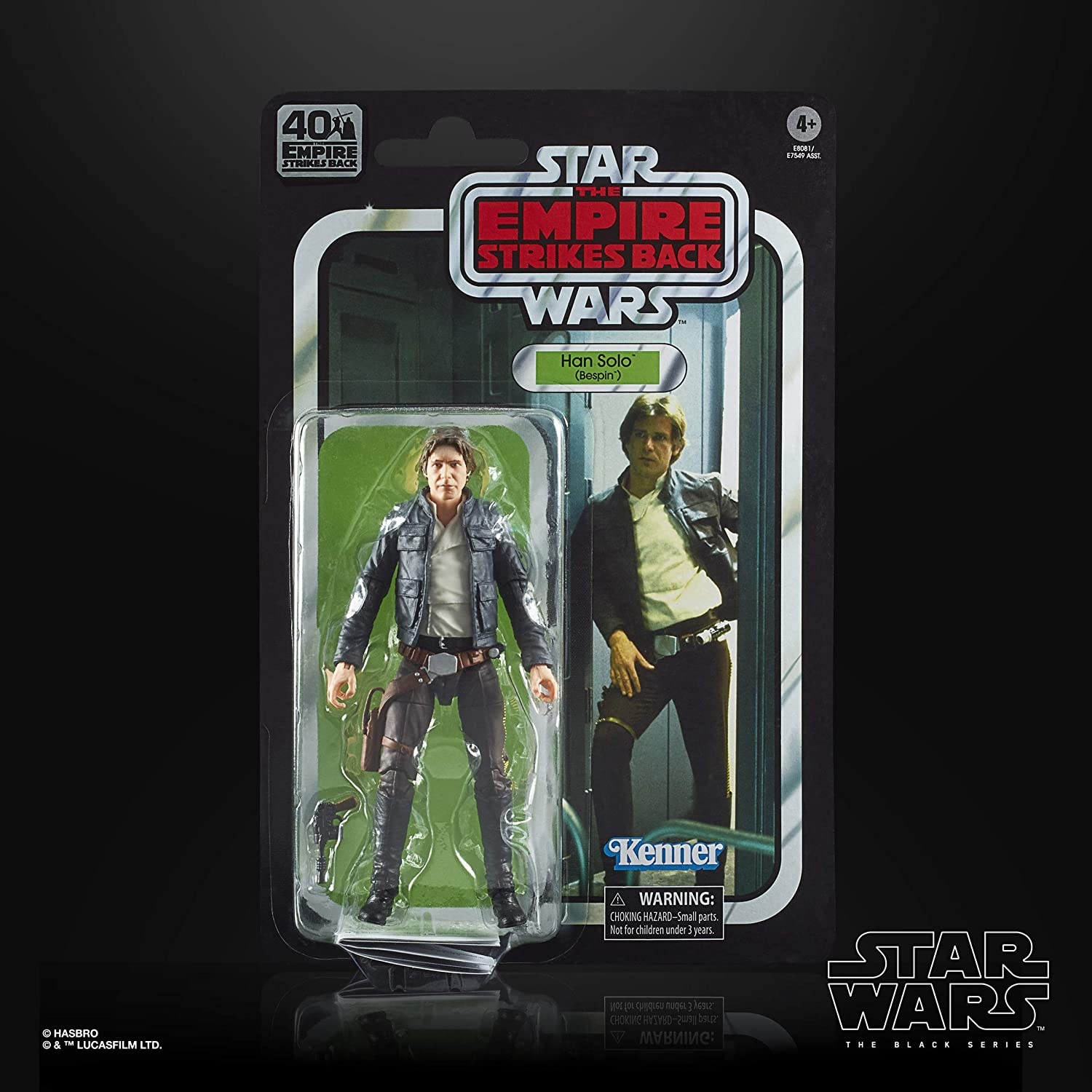 Action Figure STAR Wars The Black Series 40TH ANNIVERSARIO Han Solo Bespin