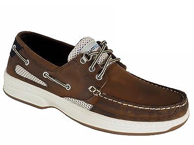 Quayside Deck Shoes - Sydney - Size: 44 (9.5 uk) - Color: