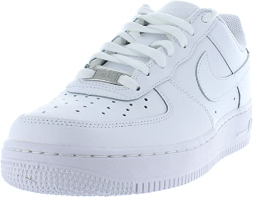 Nike Air Force 1 (GS) 314192 117 Kinder Weiß & Leder | All