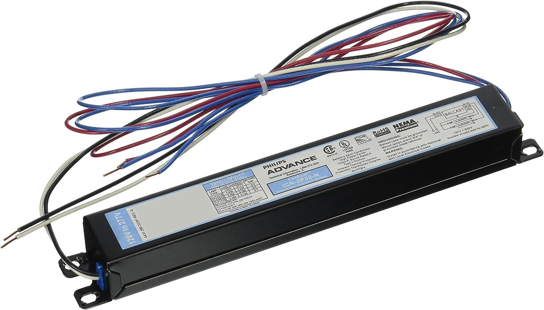BALLAST ELEC 2-3 F32T8 by ADVANCE TRANSFORMER MfrPartNo ICN3P2N35I