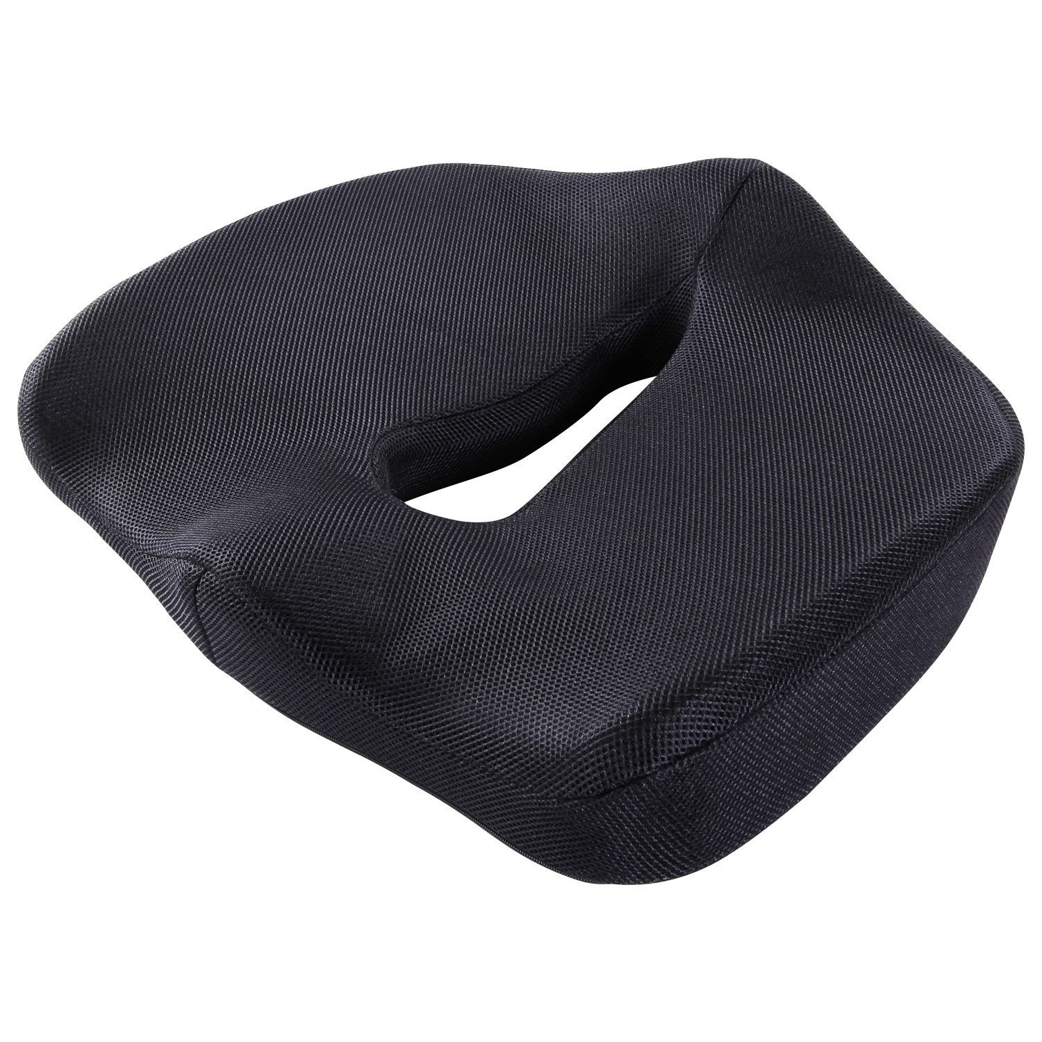 Antaprcis Coccyx Orthopedic Seat Cushion with Ergonomic Memory Foam , Breathable Mesh Cover for Coccyx Relieve Back Sciatica and Tailbone Pain- - Office Chair and Car Seat Cushion - Black by Antaprcis