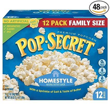 Pop Secret Popcorn, Mantequilla de teatro de película ...