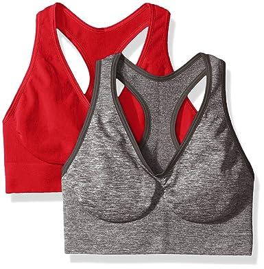 f1d47366e2e5b Hanes Women s Bra Pack of 2  Amazon.co.uk  Clothing