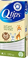 Q-tips Cotton Swabs, Baby 170 ct, (Pack of 4)