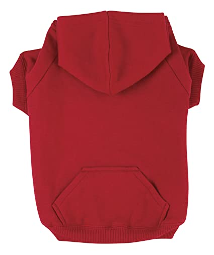 b1d9494d6474 Amazon.com : Zack & Zoey Basic Hoodie for Dogs, 12