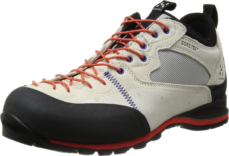 Haglöfs ROC Icon GT, Zapatillas de Senderismo para Hombre, Blanco-Weiß (Soft White/Dynamite 2JL), 46 2/3 EU: Amazon.es: Zapatos y complementos