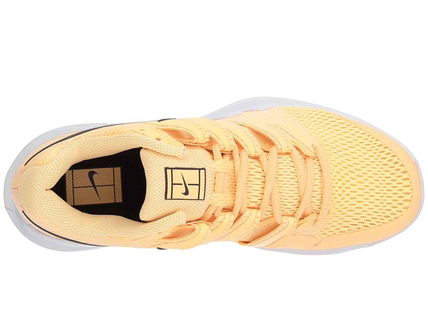 NIKE Women's Air Zoom Shoes Vapor X HC Tennis Shoes Zoom B0761Y9P9L 10.5 B(M) US|Tangerine Tint/Anthracite-white 59c51a