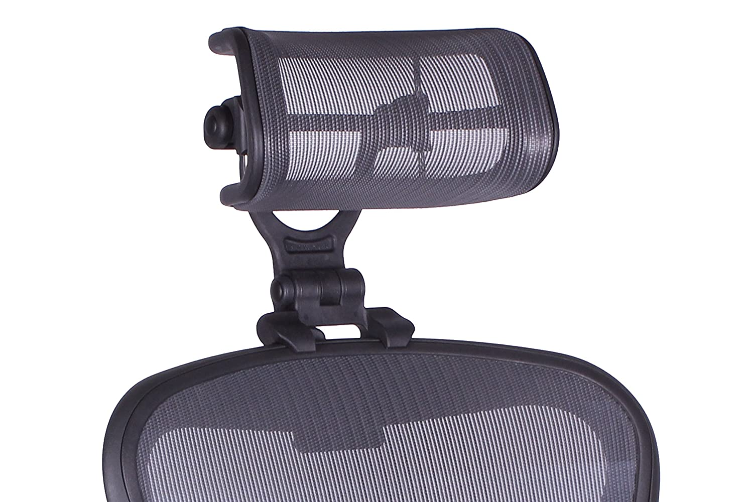 huge selection of bc8e3 03bcb The Original Headrest for The Herman Miller Aeron Chair H4 Graphite |  Colors and Mesh Match Remastered Aeron Chair 2017 and Newer Models