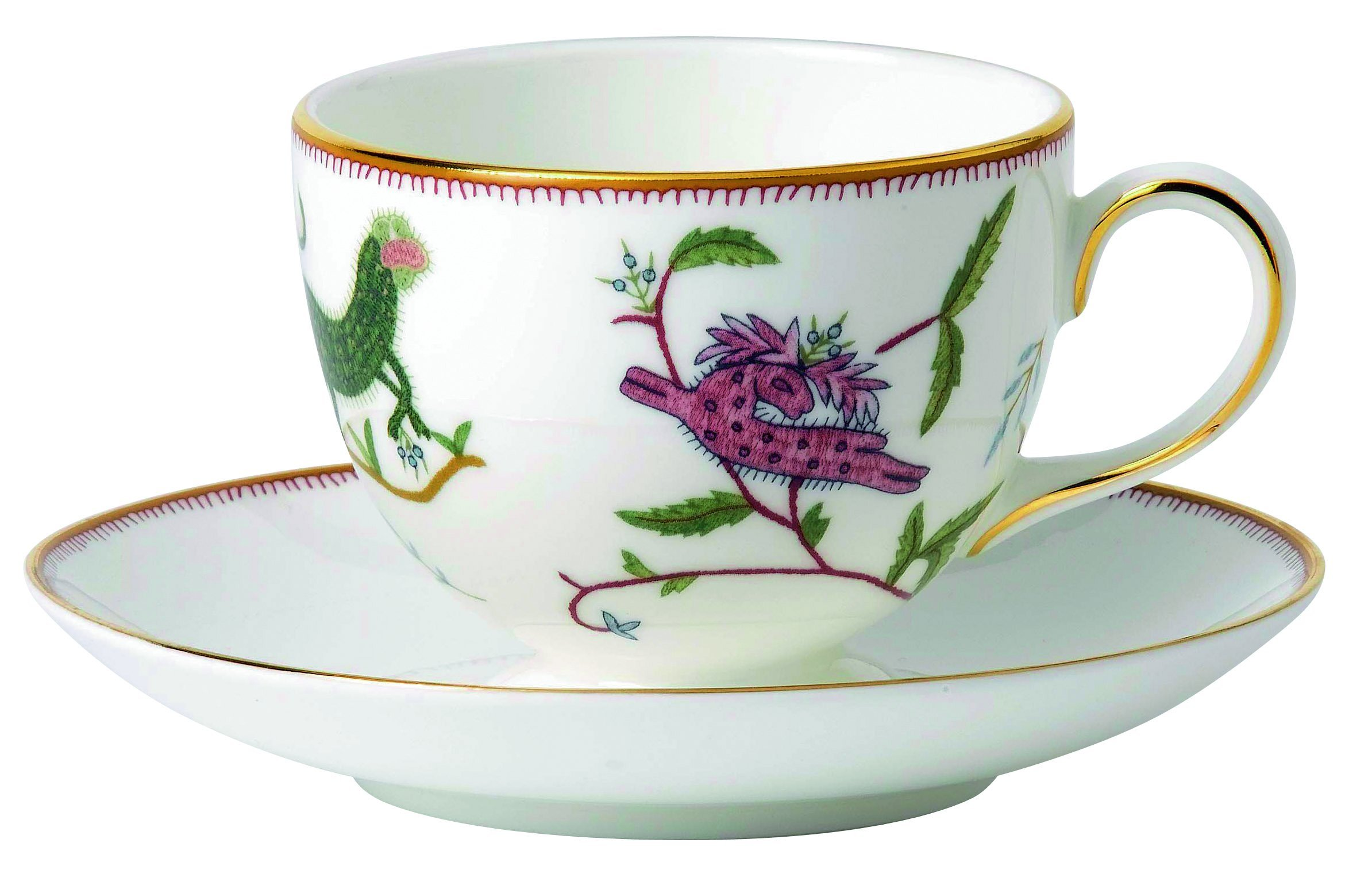 Wedgwood Mythical Creatures Teacup and Saucer Set, Leigh by Wedgwood (Image #1)