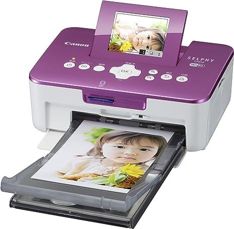 Amazon.com: Canon Compact Photo Printer SELPHY SELPHY (Rosa ...
