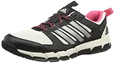 adidas Performance Vanaka Trail F32264 Damen Laufschuhe, Mehrfarbig (Chalk 2/Neo Iron Metallic F11/Bahia Pink S14), EU 38 (UK 5)