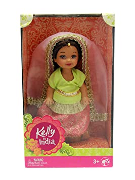 Kelly In India Doll Pink Barbie