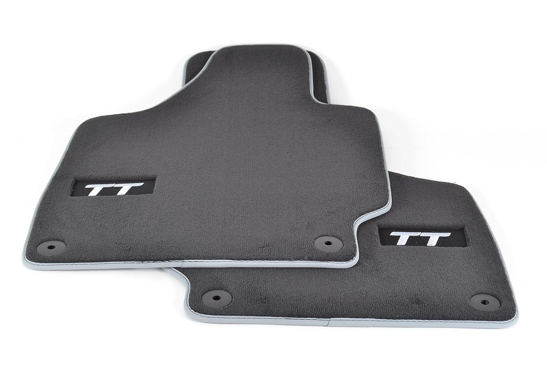 Original Audi TT 8N Stoff Fu/ßmatten Stofffu/ßmatten vorn Schwarz
