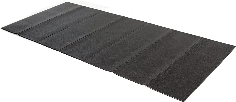 Stamina fold-to-fit folding equipment mat- Treadmill Mats For Carpets